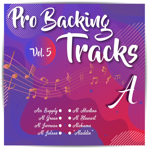 Pro Backing Tracks A, Vol.5