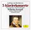 Beethoven: 5 Piano Concertos - Berlin Philharmonic, Ferdinand Leitner & Wilhelm Kempff