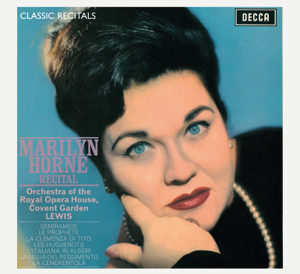 Henry Lewis, Marilyn Horne & Orchestra Of The Royal Opera House, Covent Gardern - Classic Recitals: Marilyn Horne
