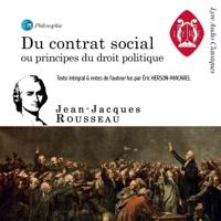 Jean-Jacques Rousseau - Du Contrat social - ou Principes du droit politique artwork