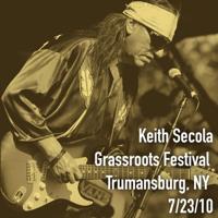 Keith Secola - Grassroots Festival, Trumansburg, NY 7/23/10 artwork