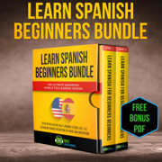 Learn Spanish Beginners Bundle: The Ultimate Audiobook Bundle for Learning Spanish: Speak in Your Car like Crazy Language Lessons Level 1 & 2 Vocabulary ... Instruction for Travel and Conversation (Original Recording)