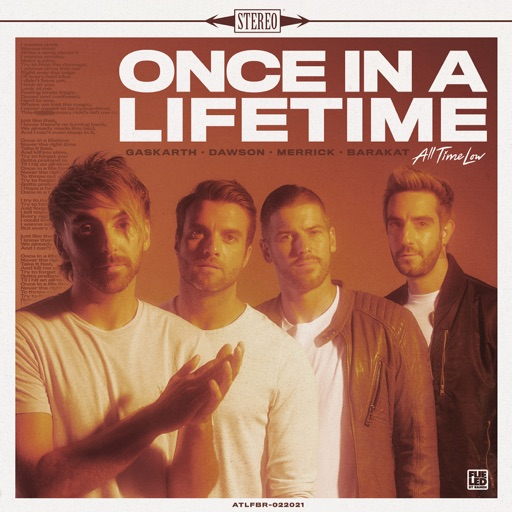 Art for Once In A Lifetime by All Time Low