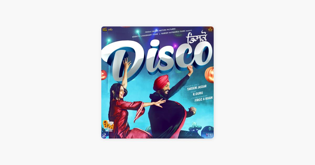 Disco - Tarsem Jassar