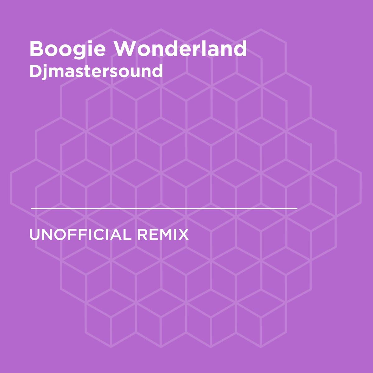 Boogie Wonderland Album Cover by Djmastersound