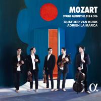Quatuor Van Kuijk & Adrien La Marca - Mozart: String Quintets K. 515 & 516 artwork