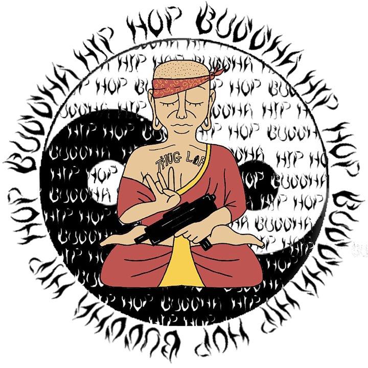 Hip-Hop Buddha by WallX x Dranki