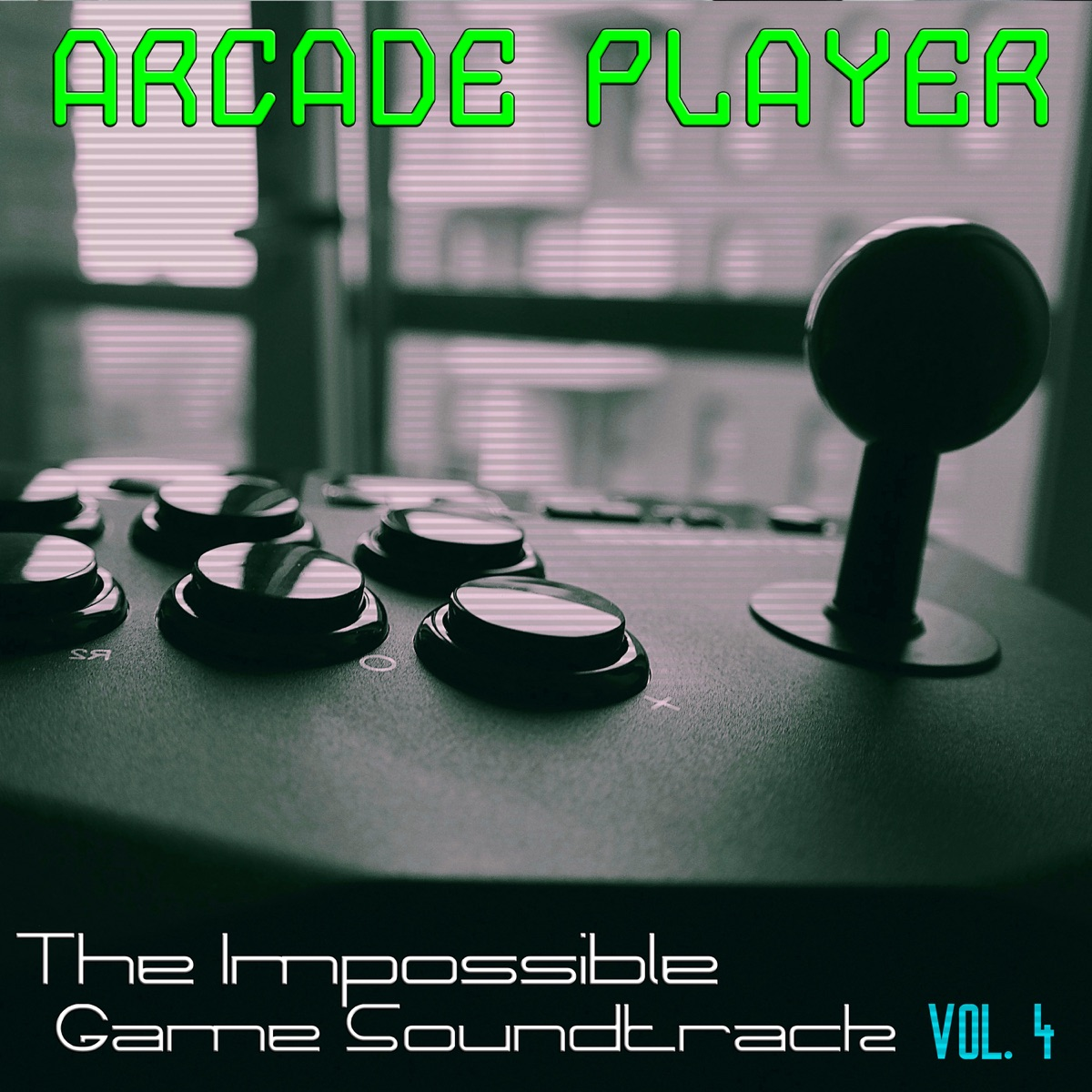 The Impossible Game Soundtrack Vol 4 Arcade Player CD cover