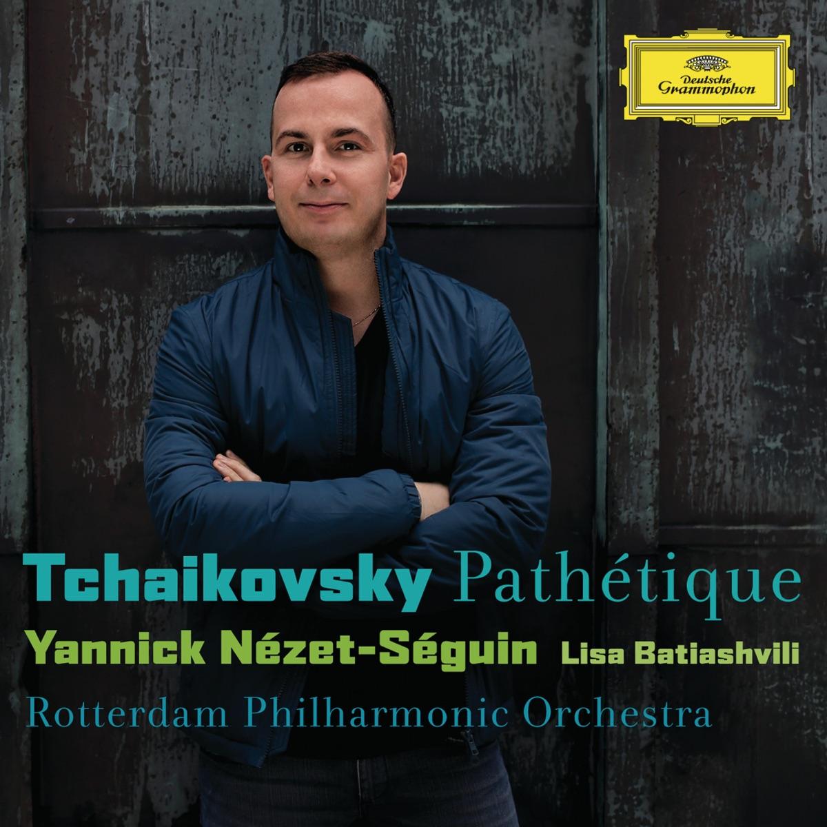 Tchaikovsky Pathétique Lisa Batiashvili Rotterdam Philharmonic Orchestra  Yannick Nézet-Séguin CD cover