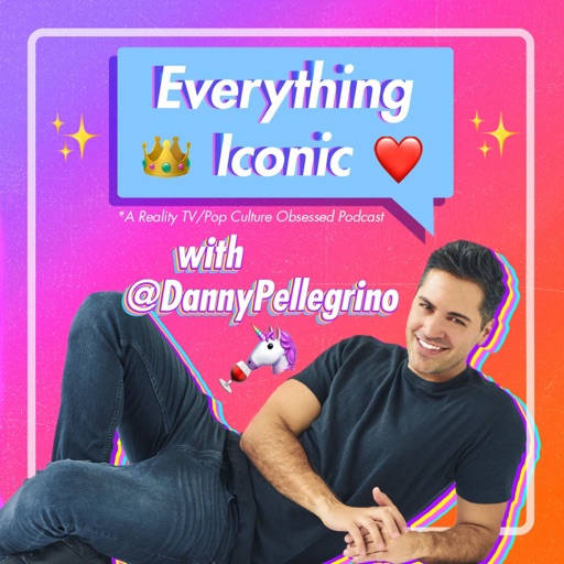 Cover image of Everything Iconic with Danny Pellegrino