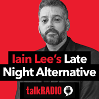Podcast cover art for The Late Night Alternative with Iain Lee