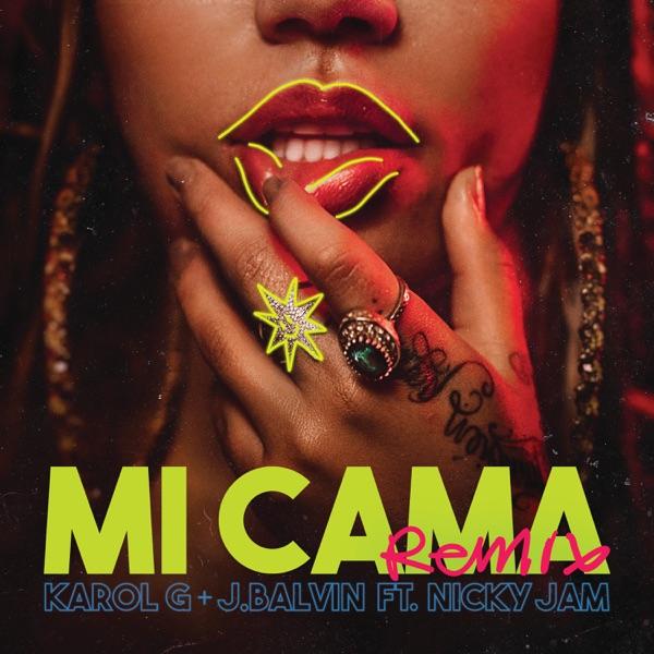 Cover art for Mi Cama (Remix)