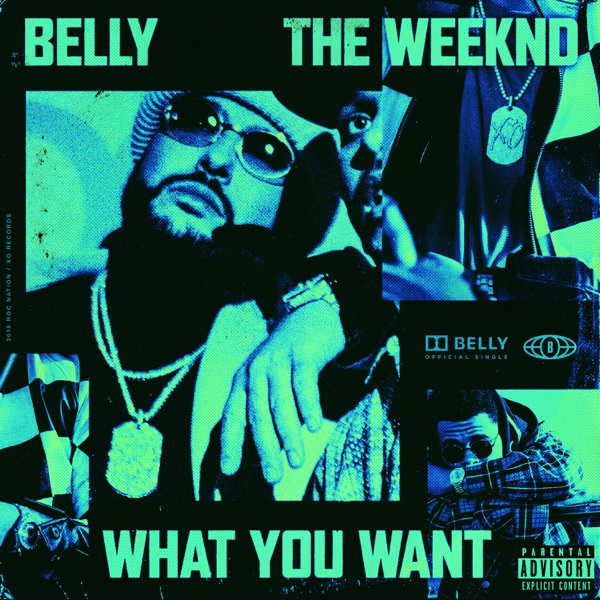 What You Want (feat. The Weeknd) - Belly song image