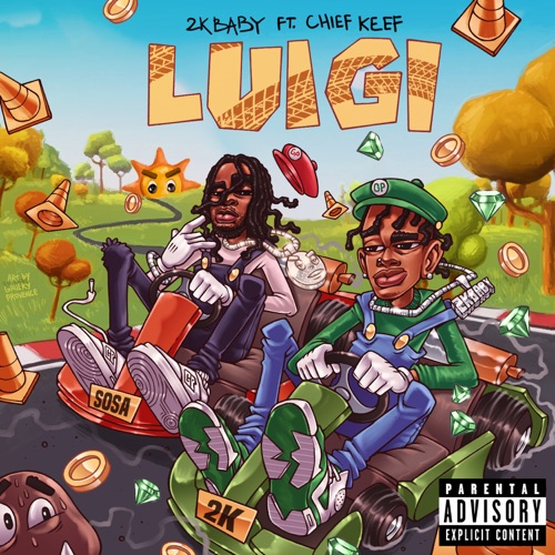 2KBABY - Luigi (feat. Chief Keef) - Single [iTunes Plus AAC M4A]