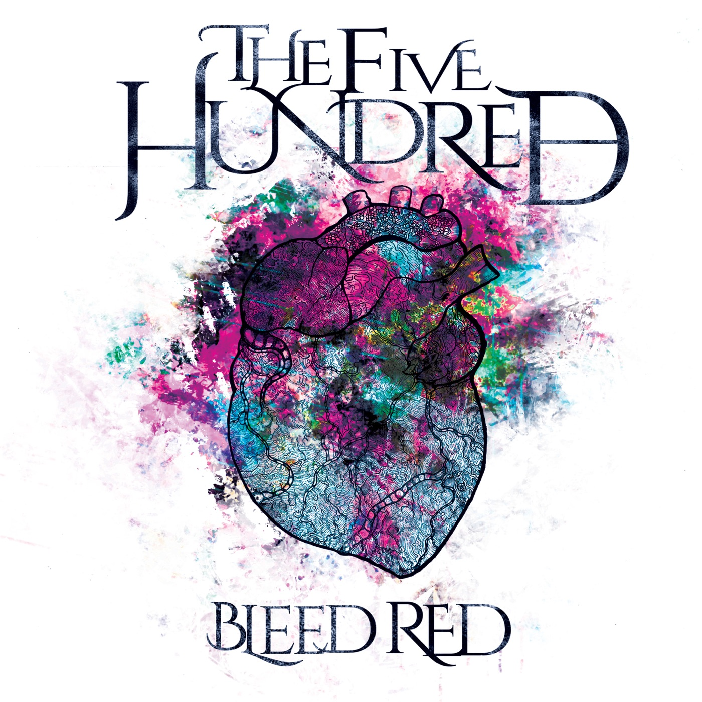 The Five Hundred - Bleed Red (2018)