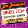 Live Broadcast - 17th October 1994 the Sting Nightclub, New Britain Connecticut, Sheryl Crow