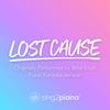Sing2Piano - Lost Cause (Originally Performed by Billie Eilish) [Piano Karaoke Version] artwork