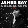 James Bay & Alicia Keys - Us  artwork