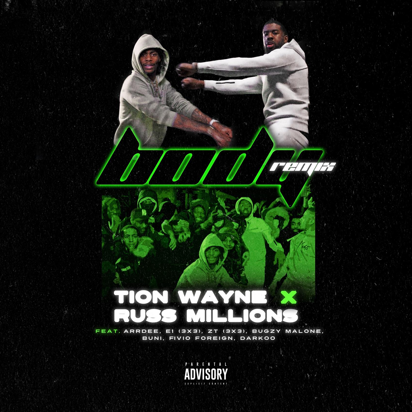 Russ Millions x Tion Wayne - Body