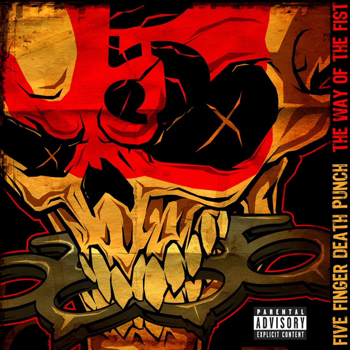 The Way of the Fist Five Finger Death Punch CD cover