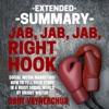 Extended Summary of Jab, Jab, Jab, Right Hook by Gary Vaynerchuk (Unabridged) AudioBook Download
