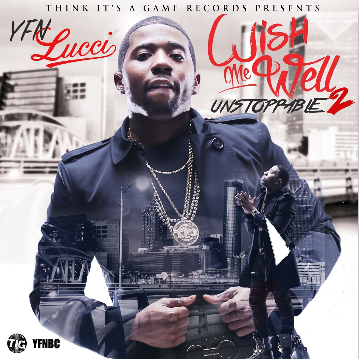 Wish Me Well 2 YFN Lucci CD cover