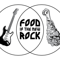 Podcast cover art for Food is the New Rock