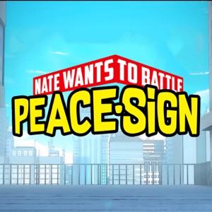 NateWantsToBattle - Peace Sign