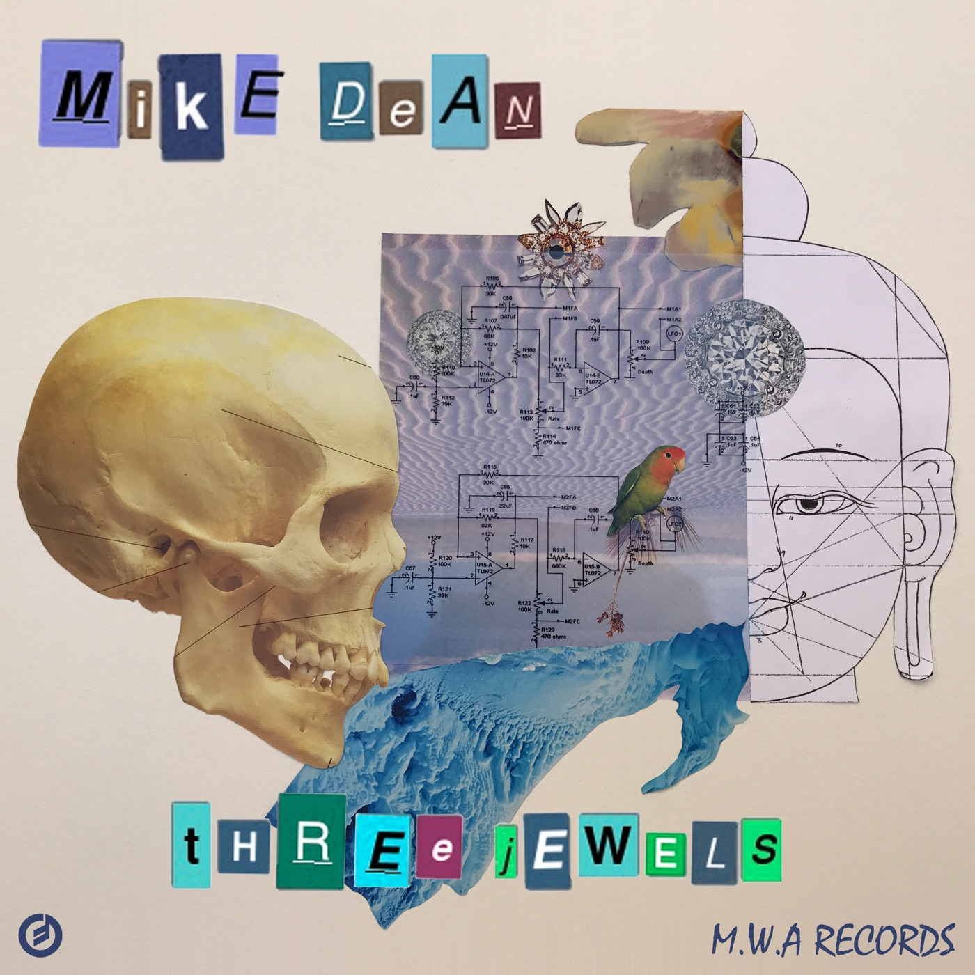 MIKE DEAN MWA - Three Jewels - Single Cover