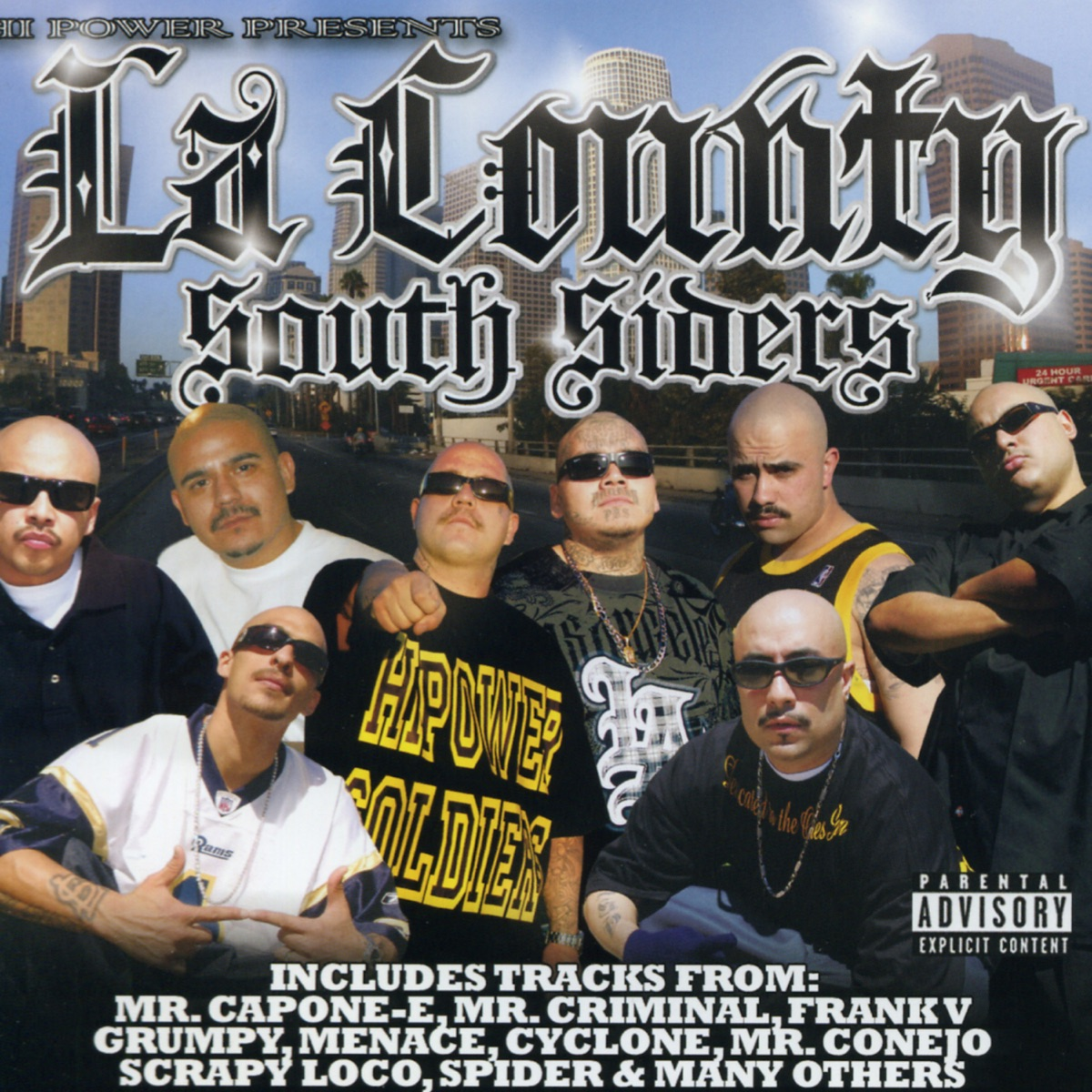 LA County South Siders Various Artists CD cover