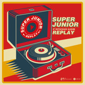 REPLAY  The 8th Repackage Album  EP-SUPER JUNIOR