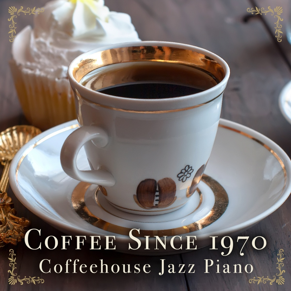 Coffee Since 1970 - Coffeehouse Jazz Piano Relaxing Piano Crew CD cover