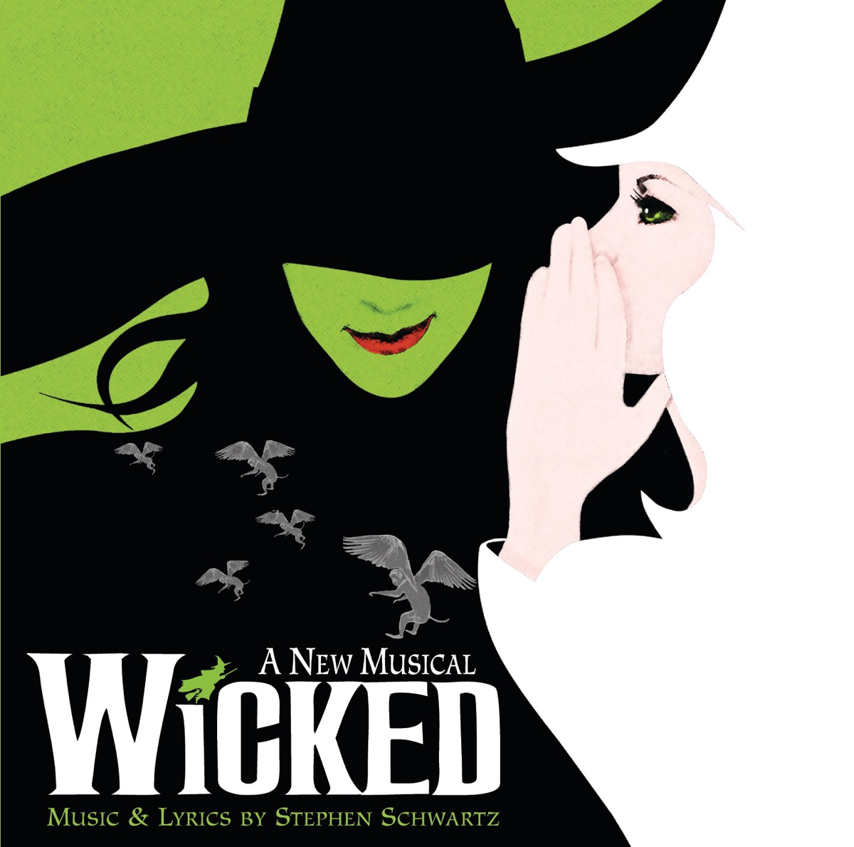 Wicked Original Broadway Cast Recording Various Artists CD cover