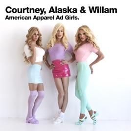 2f6d43881528  American Apparel Ad Girls - Single by Courtney