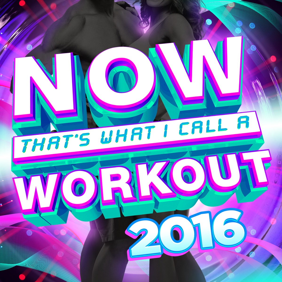 Now Thats What I Call a Workout 2016 Various Artists CD cover
