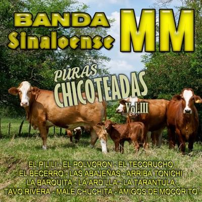 Puras Chicoteadas, Vol. 3 - Banda Sinaloense MM