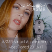 Asmr Virtual Appointments: Most Viewed 2013 / 17 - WhispersRed ASMR - WhispersRed ASMR