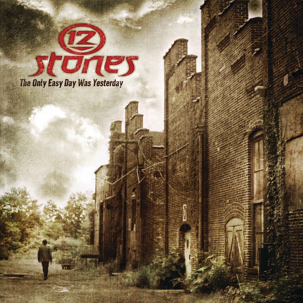 The Only Easy Day Was Yesterday EP 12 Stones CD cover