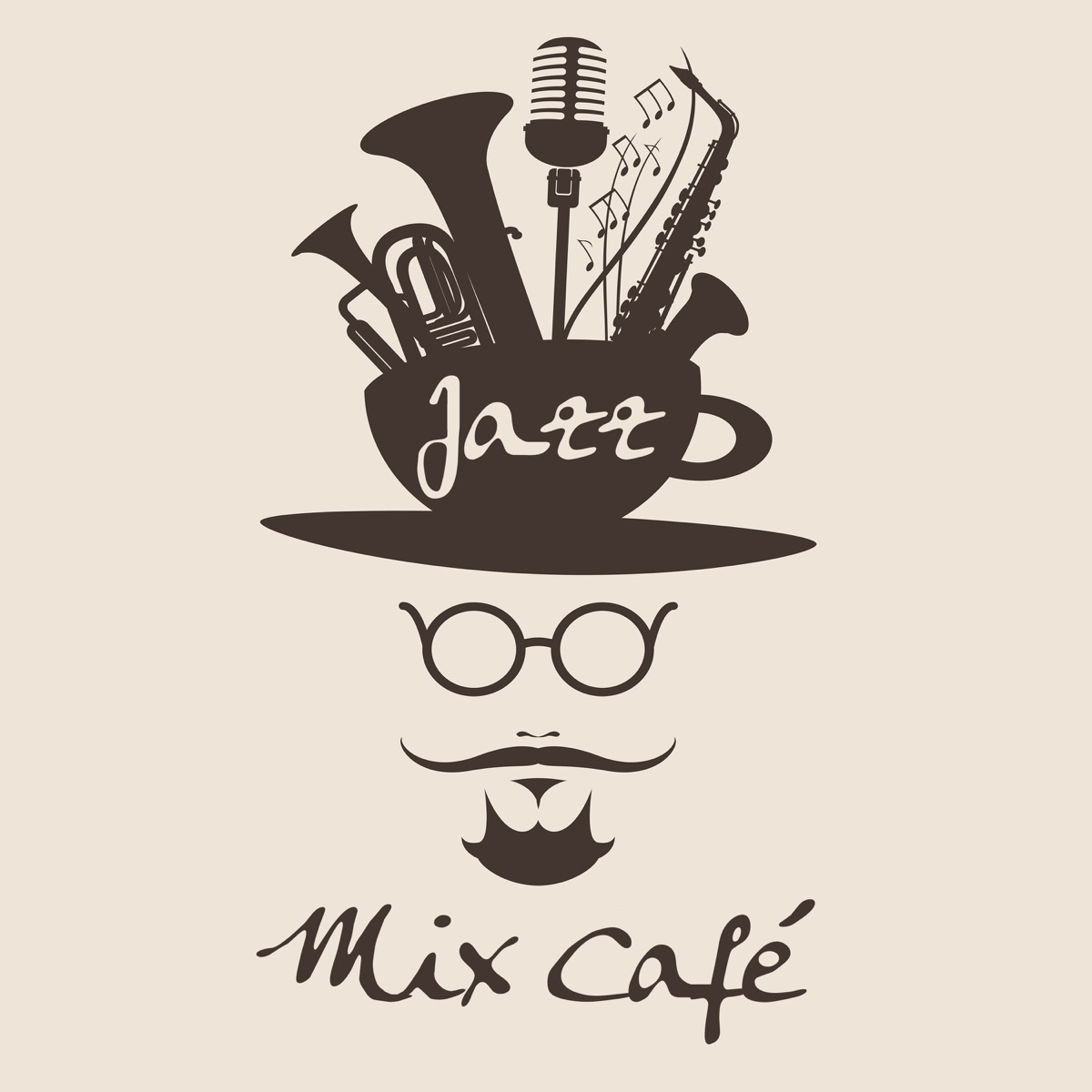 Jazz Mix Café: The Perfect 50 Instrumental Jazz for Evening with
