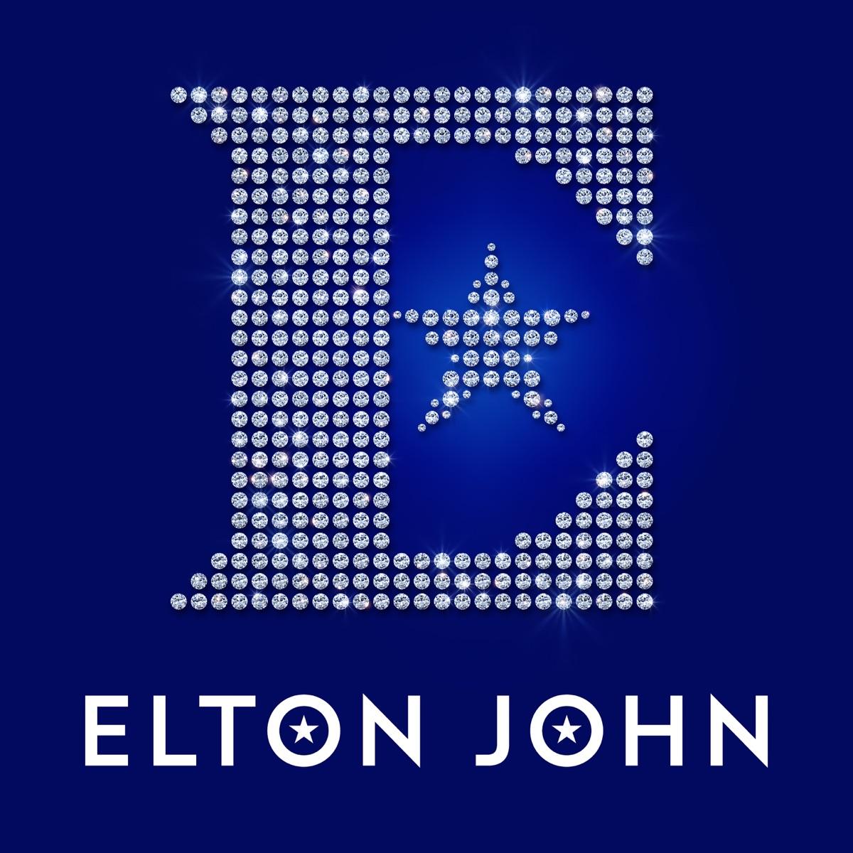 Diamonds Deluxe Elton John CD cover