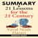 OneHour Reads - Summary of 21 Lessons for the 21st Century by Yuval Noah Harari (Unabridged)
