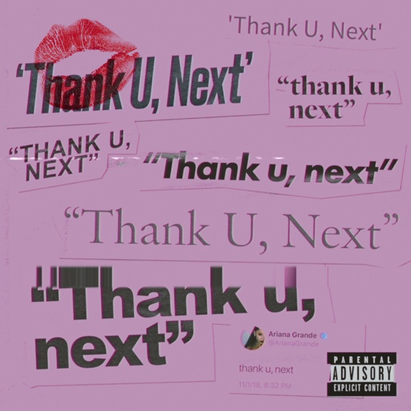 Cover art for Thank U, Next