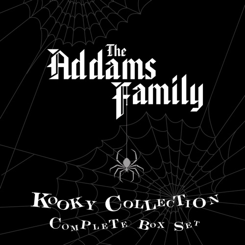 The Addams Family Kooky Collection Complete Box Set image