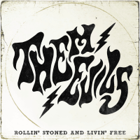 Them Evils - Rollin' Stoned and Livin' Free - EP artwork