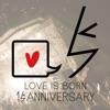 LOVE IS BORN ~15th Anniversary 2018~ ジャケット写真