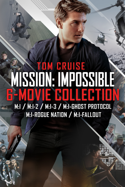 Mission: Impossible 6-Movie Collection on iTunes