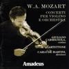 Mozart: Concerti per violino e orchestra, Giuliano Carmignola, Il Quartettone & Carlo De Martini