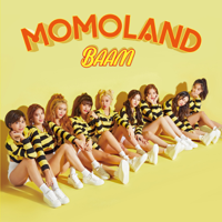 MOMOLAND - BAAM - EP artwork
