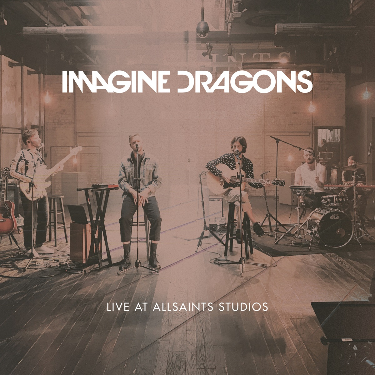 Live at AllSaints Studios - EP Imagine Dragons CD cover