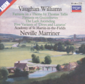 Vaughan Williams: Tallis Fantasia, Fantasia on Greensleeves & The Lark Ascending